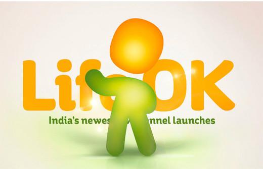 2686115702766988929 印度新电视频道Life OK新品牌形象设计欣赏