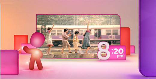 2804616667962174152 印度新电视频道Life OK新品牌形象设计欣赏