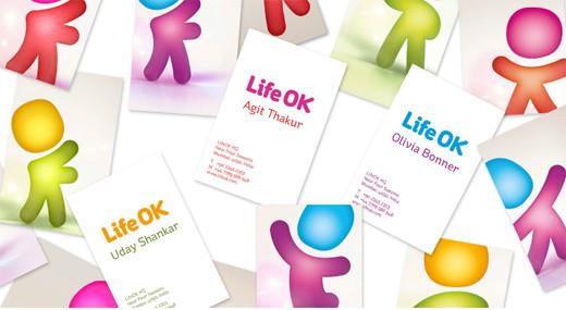 2698500601742258308 印度新电视频道Life OK新品牌形象设计欣赏
