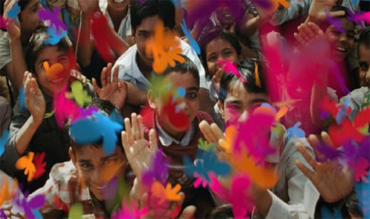 2698500601742258314 印度新电视频道Life OK新品牌形象设计欣赏