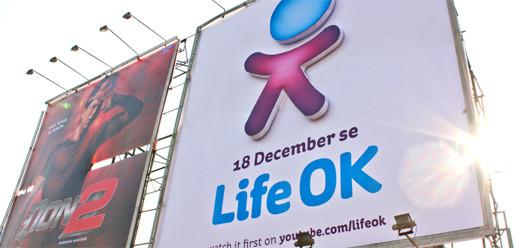 1152921504624046302 印度新电视频道Life OK新品牌形象设计欣赏