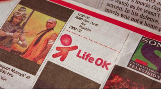 1290562768235542650 印度新电视频道Life OK新品牌形象设计欣赏