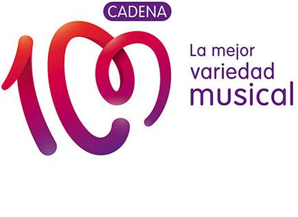 cadena100 1 西班牙人气电台Cadena 100换新品牌Logo