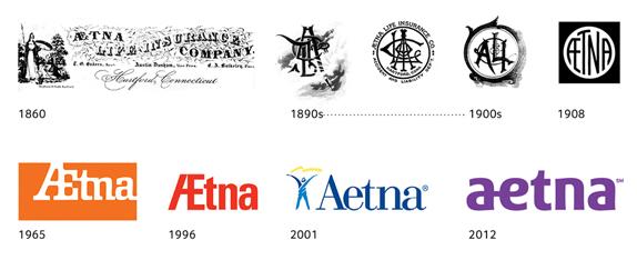 aetna 01 世界保险巨头安泰保险(Aetna)启用新企业标识