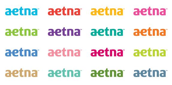 aetna 03 世界保险巨头安泰保险(Aetna)启用新企业标识