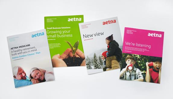 aetna 05 世界保险巨头安泰保险(Aetna)启用新企业标识