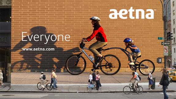 aetna 09 世界保险巨头安泰保险(Aetna)启用新企业标识