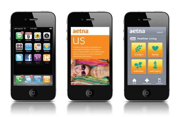 aetna 12 世界保险巨头安泰保险(Aetna)启用新企业标识