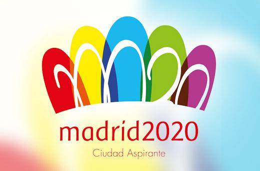 Madrid2020 logo 西班牙马德里公布申办2020年奥运会标志