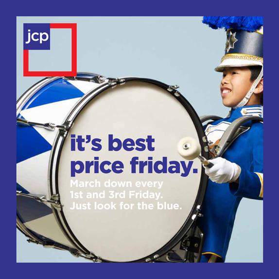 jcp 2012 postcard 星条旗装:美国零售巨头彭尼公司再度换标