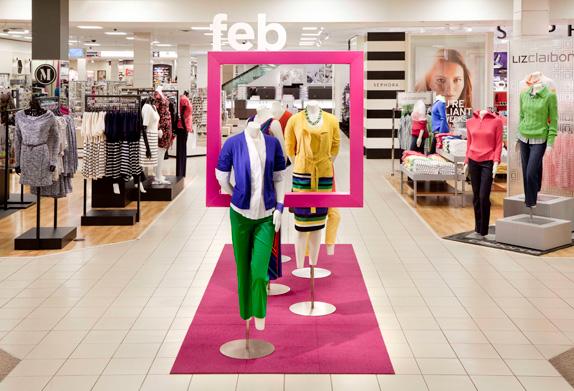 jcp 2012 entrance 02 星条旗装:美国零售巨头彭尼公司再度换标