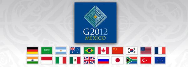 g20 mexico 2012年20国集团(G20)墨西哥峰会标识