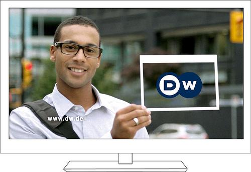 dw 德国之声改版 推出新标志