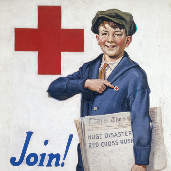 american red cross inspiration 美国红十字会启用新标识