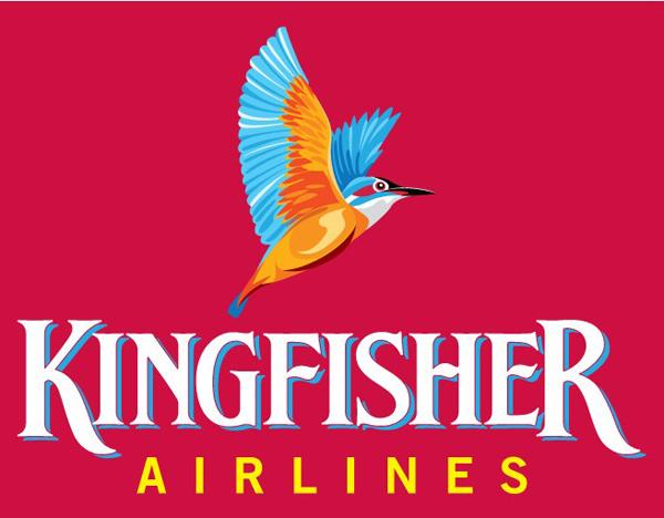 kingfisher logo 面临破产的印度翠鸟航空公司Logo