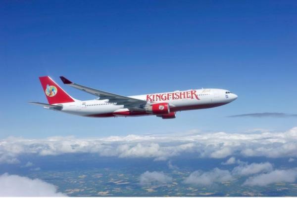 kingfisher airlines1 面临破产的印度翠鸟航空公司Logo