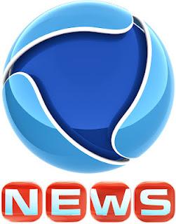 Record News logo 2012 巴西第二大电视网Rede Record新台标