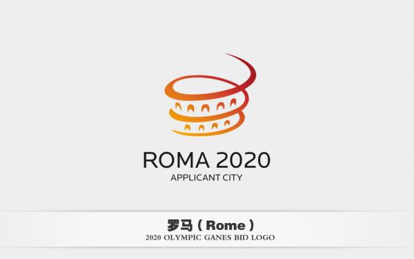 六大城市2020年奥运会申办标志欣赏