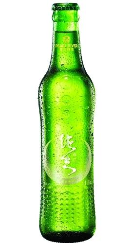 ?珠江纯生新装。瓶身以点代珠,造型纤细,线条流畅,让人拿着喝的时候有轻松的手感。