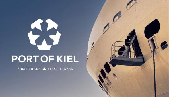 port of kiel new logo 00 德国基尔港(Port of Kiel)启用新Logo