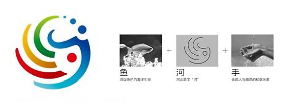 2012 expo hebei logo 2012年韩国丽水世博会中国馆河北活动周形象标识和吉祥物