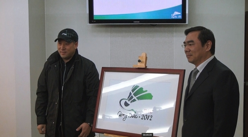 bac2012qd2 2012年亚洲羽毛球锦标赛徽标揭晓