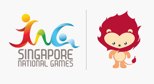 Singapore 2012 National Games emblem and mascot 01 新加坡首届全国运动会会徽和吉祥物出炉