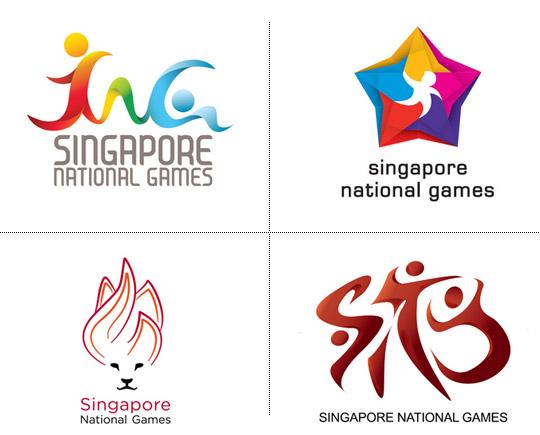 Singapore 2012 National Games emblem and mascot 05 新加坡首届全国运动会会徽和吉祥物出炉