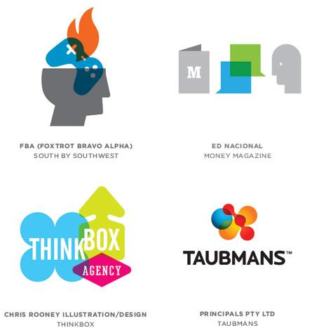 1 icon clusters 2012年标志设计趋势报告