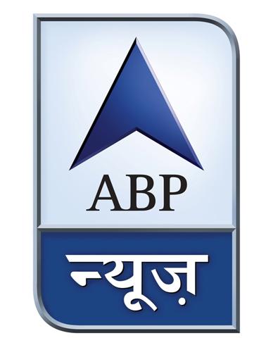 "abp news logo1 印度三家""Star""电视频道改名""ABP""换新Logo"