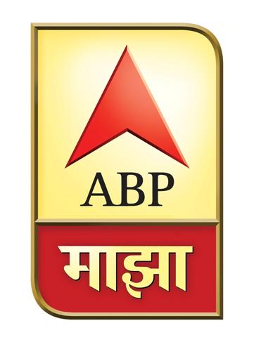 """Star Majha logo 印度三家""""Star""""电视频道改名""""ABP""""换新Logo"""