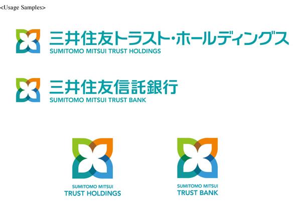 """smtb new logo4 新Logo发布:日本最大信托银行""""三井住友信托银行""""成立"""