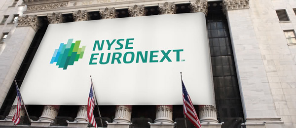 nyse euronext new logo 纽约 泛欧交易所集团(NYSE Euronext)启用新品牌标识
