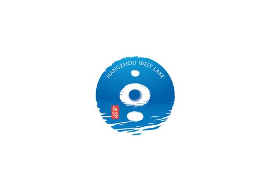 westlake logo 1 西湖LOGO出炉:一湖、一月、一潭、一印