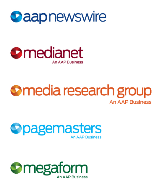 AAP businesses logos 澳大利亚联合新闻社启用新Logo