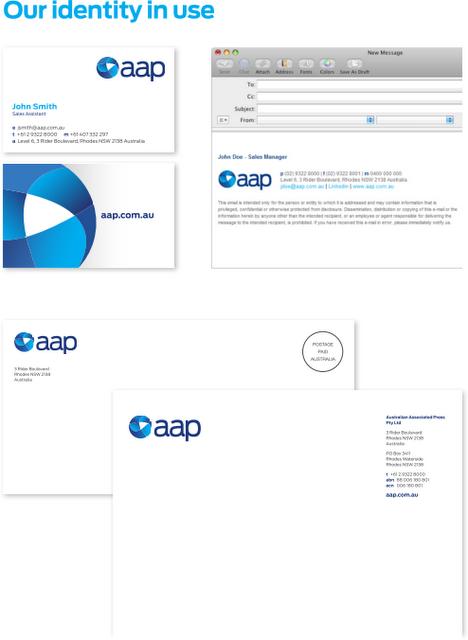 AAP applications 澳大利亚联合新闻社启用新Logo