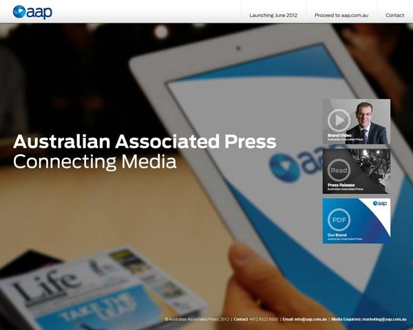 aap new logo4 澳大利亚联合新闻社启用新Logo
