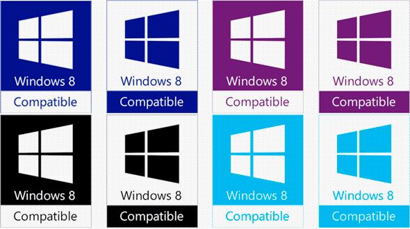 Windows 8兼容Logo曝光