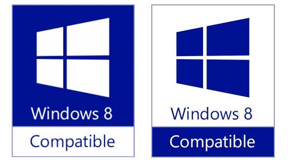 Windows 8兼容Logo曝光――深蓝
