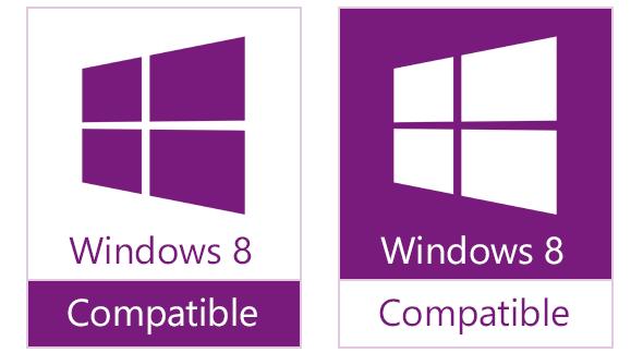 Windows 8兼容Logo曝光――紫色