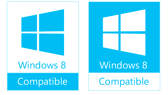 Windows 8兼容Logo曝光――浅蓝