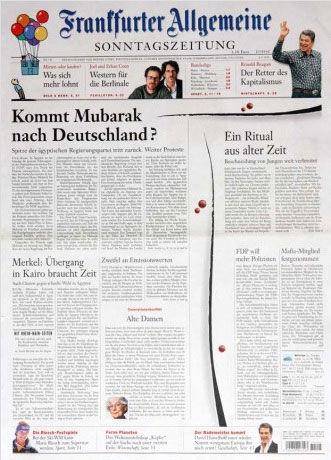 Frankfurter Allgemeine Sonntagszeitung(德国)