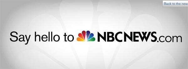 sayhello nbcnews 微软与NBC合作结束 MSNBC网站更名换标