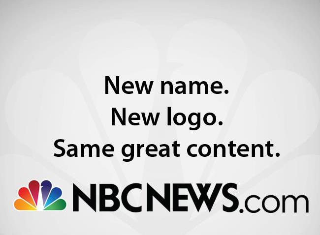 nbcnews logo 微软与NBC合作结束 MSNBC网站更名换标