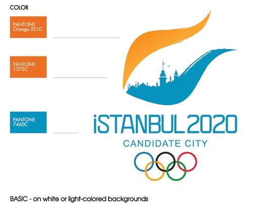 istanbul 2020 bid logo 2  伊斯坦布尔2020年奥运会申奥标识确定