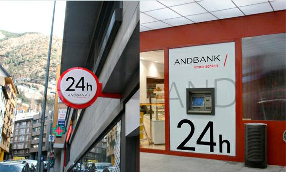 安道尔Andbank银行新标志