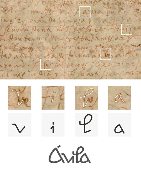 西班牙中部城市阿维拉(Avila)形象标志