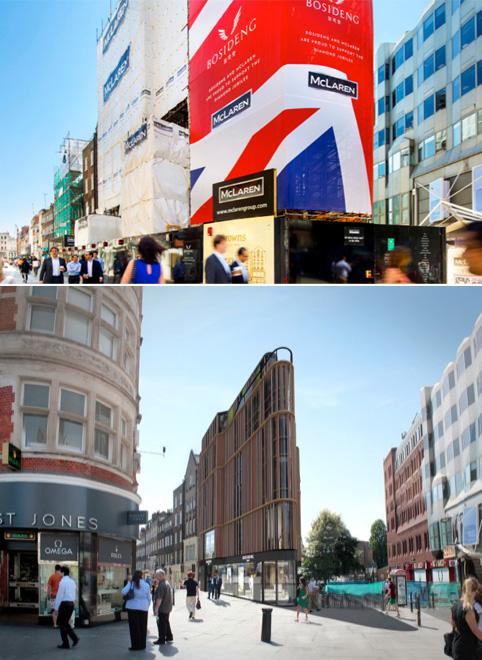 bosdeng london store 波司登开设伦敦分店 海外新Logo启用