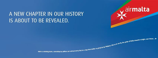 air malta new logo 3 马耳他航空公司换新Logo和新涂装
