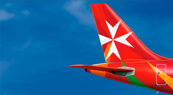 马耳他航空公司( Air Malta )新Logo